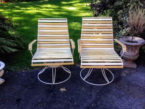 Rare! 4 Chaises Patio HOMECREST des Années 1960 West Island Greater Montréal image 7