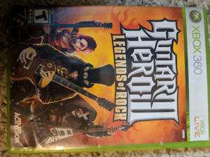Guitar Hero 3 legends of rock Xbox 360