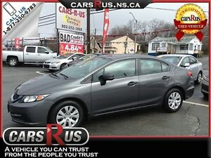 2013 Honda Civic DX.....Includes 4 FREE winter tires!!