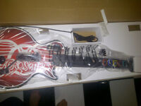 Wired USB Aerosmith Xbox 360 Guitar Controller Like New In Box