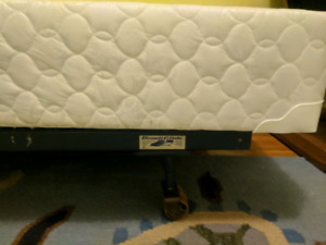 Adjustable bedframe and box spring