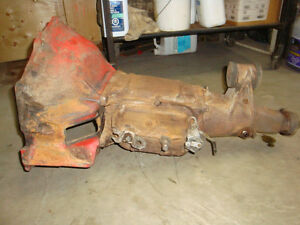 Chevrolet 3 speed transmission and bell housing