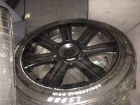 """17 """" alloy wheels"""