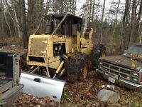 International S7 Skidder For parts