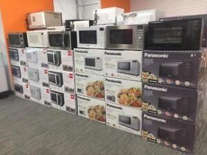 MICROWAVE OVENS PANASONIC, RCA, SHARP, FRIGDAIRE STARTING FROM $84.99