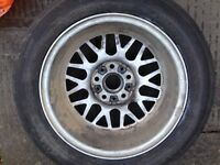 Genuine BBS 16inch alloy *Bmw* spare wheel vivaro traffic van