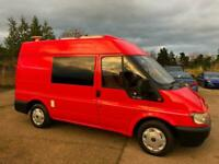Ford transit 2 berth camper,power steering,3 point seat belt