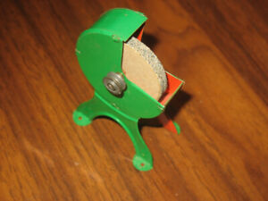 Vintage Toy Pulley Operated Grinding Wheel (Works)