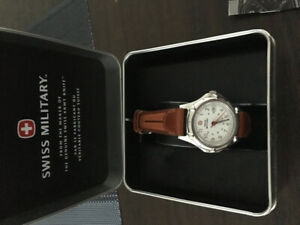 Swiss military ladies watch