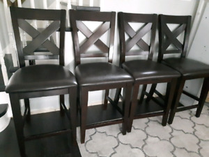 8 LEONS COUNTER CHAIRS/STOOLS $240.00