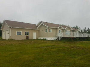 House with acreage to rent