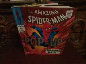 Spiderman pop up comic