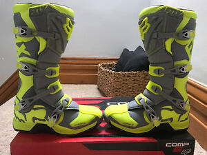 Fox Racing Pro Comp5 Size 12 Boots