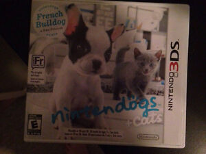 Nintendogs +Cats French Bulldog Version for Nintendo 3DS