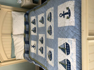 Nautical Bedding for Boys Room