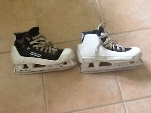 Youth Goalie Skates - 3 pairs
