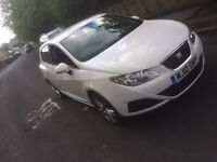Seat Ibiza 1.4 diesel 5dr White Hpi clear