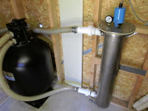 UV Water Treatment System for Swimming Pools
