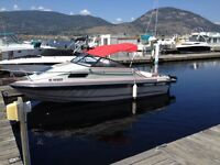 Comes with slip at penticton yacht club.