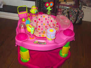 Tea Party Exersaucer for a girl