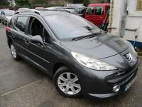 2008 PEUGEOT 207 SW SPORT HDI ESTATE PAN ROOF ESTATE DIESEL