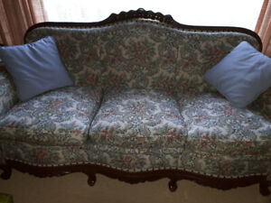 Antique Couch and Chair set - $500