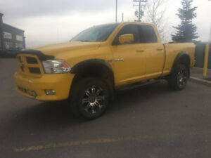 2009 DODGE RAM SLT 1500 4X4 LIFTED