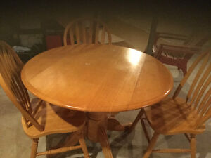 Table and 3chairs