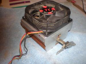 CPU Heat Sink and Fan