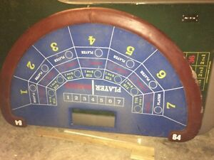 Roulette wheels and tables and other casino tables Stratford Kitchener Area image 8