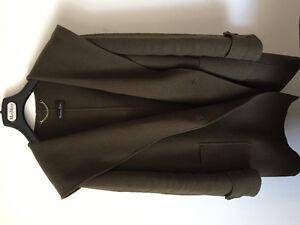 Massimo dutti hooded coat