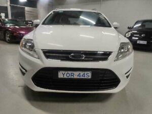 2011 Ford Mondeo MC LX TDCi White 6 Speed Direct Shift Wagon Mitchell Gungahlin Area Preview