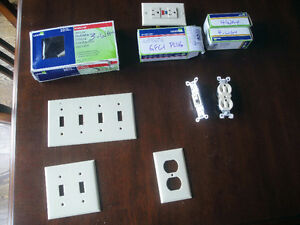 Electric Switches, Covers, Outlets