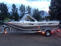 2013 river jet boat 330hp only 67 hours