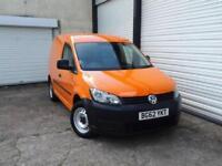 2012 62 Volkswagen Caddy 1.6TDi BlueMotion C20 *Service History *NO VAT *Orange