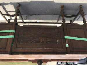 Antique Solid wood chest/sideboard