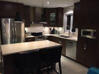 Armoire de cuisine brun contemporain - Pas cher!!