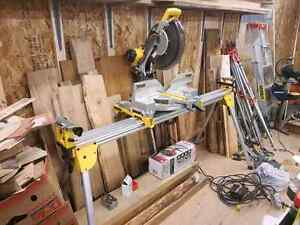 Dewalt 12in Mitre Saw Plus Stand