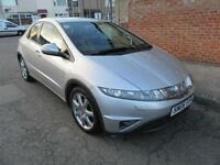 2006 HONDA CIVIC 1.8I-VTEC I-SHIFT SPORT AUTOMATIC PETROL