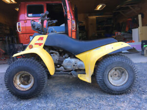 Yamaha moto 4 80cc four wheeler reduced