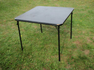 Sturdy Folding Table for sale