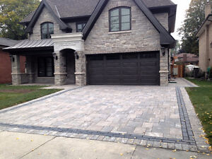 DRIVEWAYS! LANDSCAPING! OUTDOOR KITCHENS! FREE ESTIMATES!
