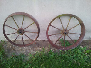 decorative steel wheels