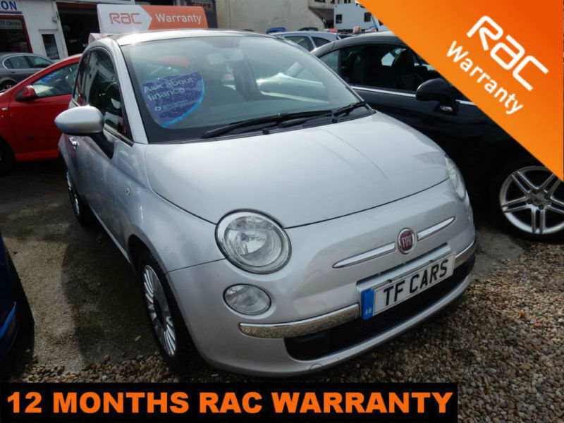 Fiat 500 1.2 LOUNGE - £30 ROAD TAX! PANORAMIC ROOF!