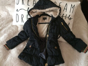 Jessica Simpson Insulated Jacket Size 7-8