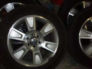 275 55 20 inch tires on Ford F150 rims