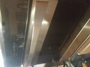 Convection oven and induction cooktop