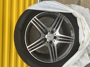 Mercedes AMG wheels and tires
