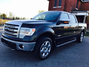 2014 FORD F-150 SUPER CREW LARIAT 4X4 IN EXCELLENT CONDITION!!