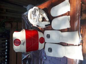 Taekwondo - equipement de protection pour combat et compétition